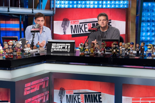 Mike Greenberg and Mike Golic - Mike and Mike in the Morning - June 20, 2012